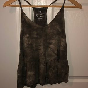 American Eagle tie dye Soft and Sexy Tank/XS